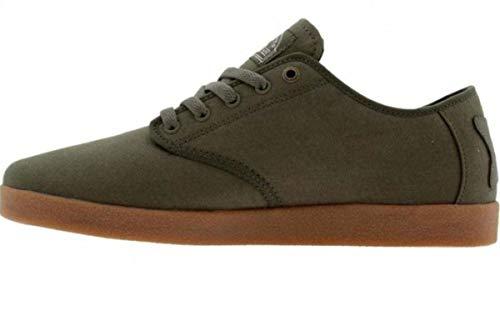 HUF Skateboard Schuhe Hufnagel Pro TX Olive - Sneakers Sneaker Shoes, Schuhgrösse:40.5