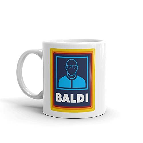Baldi Gift Mug. Funny Gift for Bald Man. Gift for Bald dad. Gift for Bald Step dad. Baldi Mug. Fathers Day Gift. Fathers Day Mug Grandad Mug