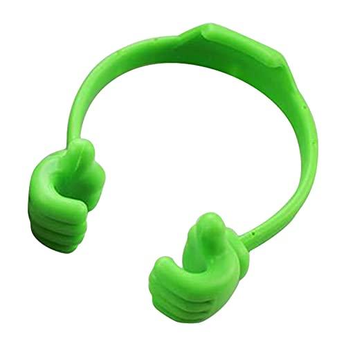 primrosely Soporte para teléfono móvil, tableta, soporte para el pulgar, soporte para teléfono móvil, soporte para mesa para smartphones
