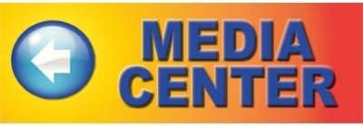 Media Center Blended Background//Blue Lettering Directional Banner Shown