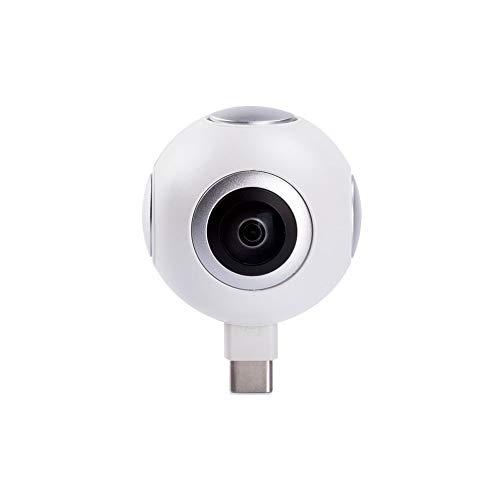 Midland H360 Smart Action Cam Videocamera Full HD per Smartphone Android, Camera 360 per Vlogging, YouTube, Facebook e Instagram