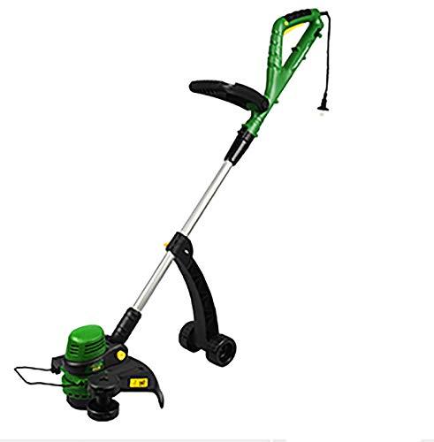 Cortacésped eléctrico de 800 W, cortadora de césped agrícola pequeña, cortadora de césped retráctil de bajo ruido, ligera y portátil, adecuada para cortadoras de césped de jardín B,800W