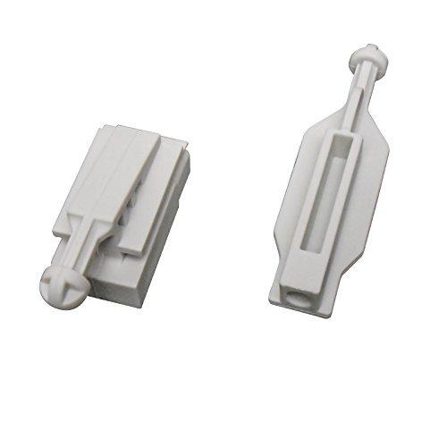 1 x set halogeen of xenon koplamp reflector houder clips houder voor E39 bouwjaar : 2000 ===> 2003 rechts of links 'Nieuw '