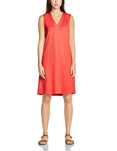 Street One Damen 142493 Kleid, Bright Coral, (Herstellergröße:42)