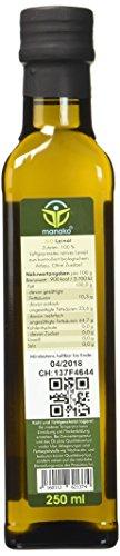 Manako BIO Leinöl human 2×250 ml ABSOLUT FRISCH ab Ölmühle Glasflasche, 1er Pack (1 x 500 ml) – Bio - 2