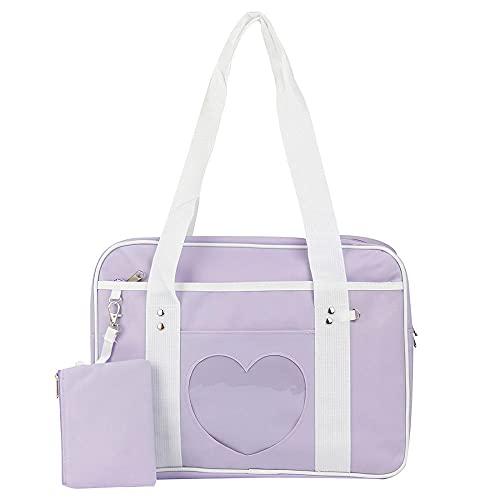 Ita Bag Fashion Love Clear Crossbody Bag Schoudertas Portemonnee Lolita JK Bag Anime Bag voor meisjes