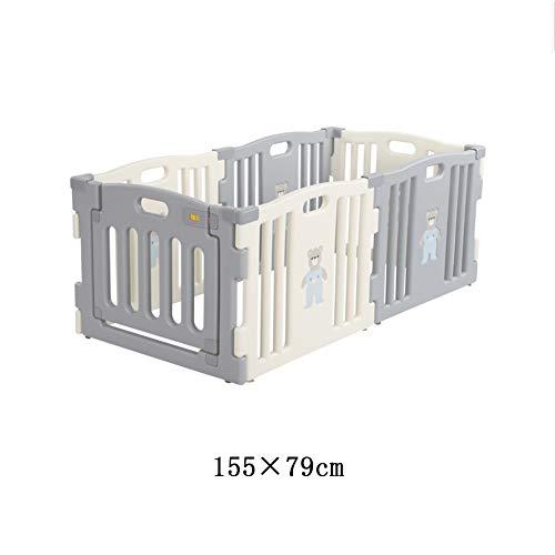 Best Bargain X/L Baby Gate,Children's Play Fence Panel Yard Indoor Indoor Outdoor Fence Tasteless La...