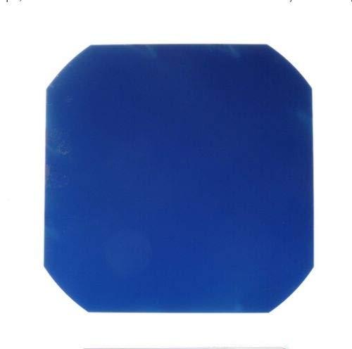Solarzelle, flexibel, monokristalline Zellen, zum Schweißen für DIY-Solarmodul, hohe Effizienz, 3,4 W, C60, 5 x 5, 125 x 125 mm, sichere Verpackung, 3. Generation, 20pcs, blau, 20