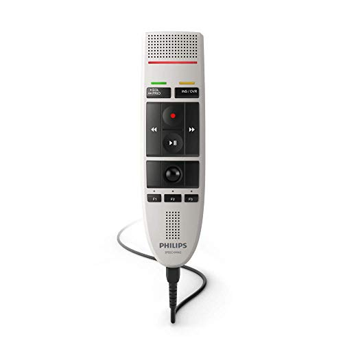 Philips LFH3200/01 SpeechMike - Micrófono para dictáfono (