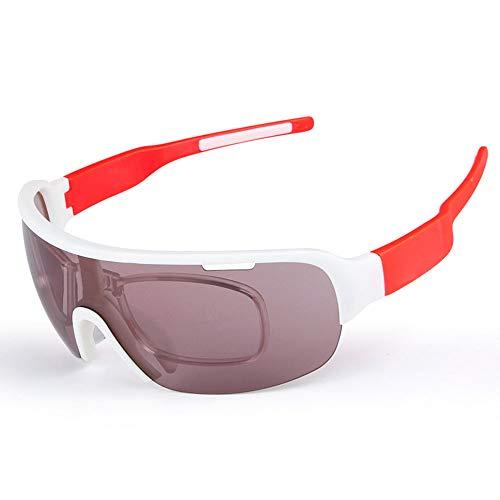 Gafas de sol Deportivas Protección UV400 Ciclismo Gafas para correr Gafas de sol polarizadas para deportes Superlight Frame Design Para hombres y mujeres 5 lentes intercambiables 8 colores Actividades