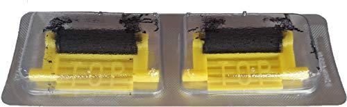 Rouleaux Encreur'Meto 32' Standard pour Etiqueteuses Meto ProLine/Eagle L/XL - Code 8873170 - Paquet de 2 Unités
