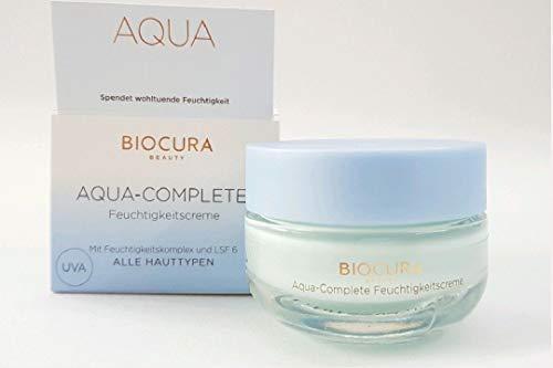 BIOCURA BEAUTY AQUA-COMPLETE- Feuchtigkeitscreme und LSF 6 50 ml