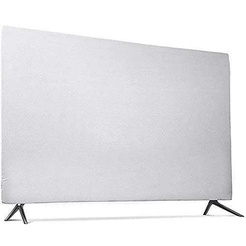 Resistente a los arañazos resistente a salpicaduras suave tela elástica cubierta para 43 '49' 55' TV colgante TV cubierta protectora al aire libre tv cubierta 347