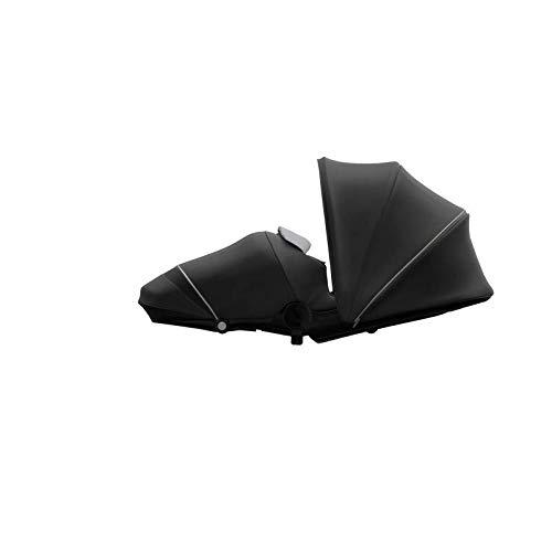 Joolz Hub/Hub+ - Cocoon - Accesorio para silla de paseo - Ergonómico - Cómodo diseño - Ideal para dormir - Negro brillante