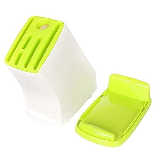 SJYDQ 1pc Cuchillo de Cocina de plástico Titular Multifuncional de Cocina Accesorios de Almacenamiento en Rack de Almacenamiento de Herramientas portacuchillas Cuchillo de Cocina Holder