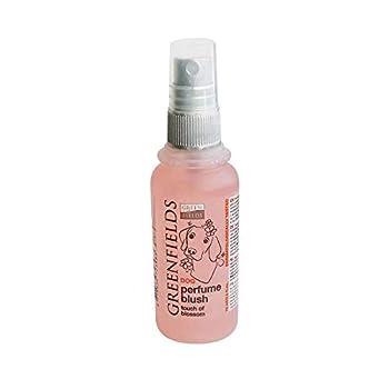 Greenfields Parfum pour Chien, Eau De Cologne pour Chien, Spray Déodorant pour Chien - Blush - 75ml pour Chien Blush Rose