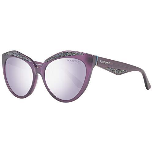 Guess by Marciano Sonnenbrille Gm0776 78B 56 Gafas de sol, Morado (Violeta), 56.0 para Mujer