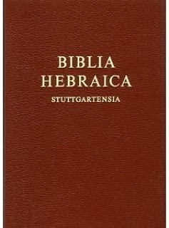 Biblia Hebraica Stuttgartensia (text only) Compact edition by K. Elliger,W. Rudolph