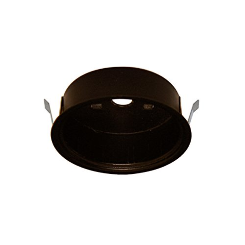 WAC Lighting HR COV-DB LED Retrofit Housing Button Light, Dark Bronze