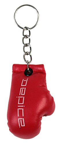 DEPICE Llavero, diseño de guante de boxeo rojo rojo Talla:mini