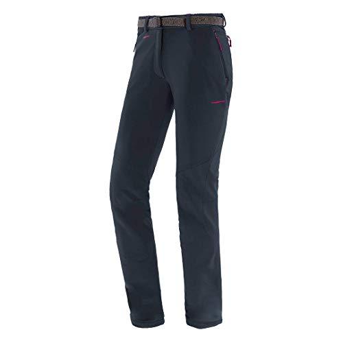 Trangoworld pc008099 – 61z-XS Pantalon Long, Femme, Noir/Fuchsia, XS