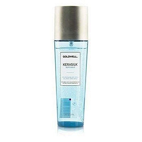 Goldwell Kerasilk Repower Volume Blow-Dry Spray Strengthen & Sheild Hair Against Thermal Damage - 4oz