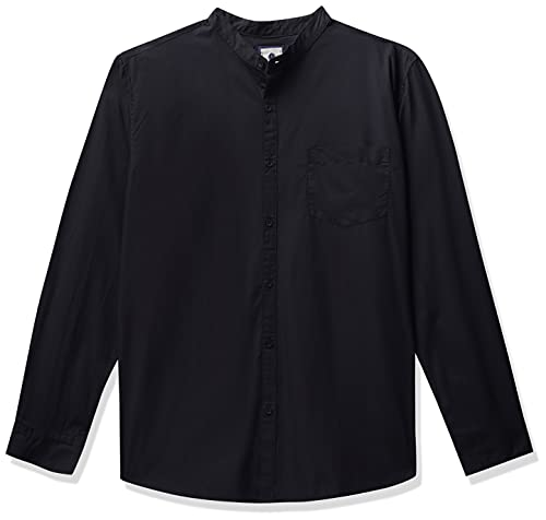 Amazon Brand – Symbol Men's Solid Regular Casual Shirt