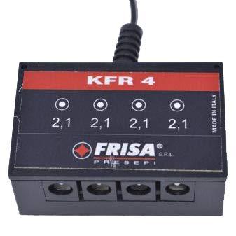 FRISA - Centralina per Illuminazione presepio - Kit con 4 fuochi Rossi