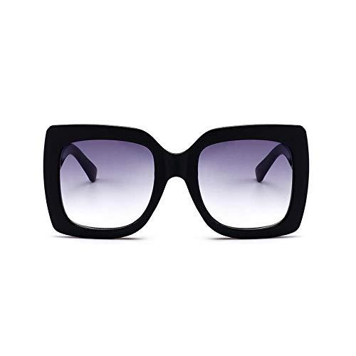 Gafas de sol de caja de tres colores europeas y americanas color...