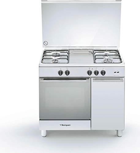 BO953EE/L - Cucina a Gas con Forno a Gas, N° 4 Fuochi, 90x60 cm, Inox