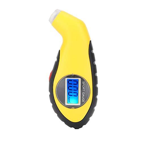 Medidor de presión de neumáticos, medidor de presión de neumáticos de coche de alta precisión Pantalla LCD Sensor digital electrónico