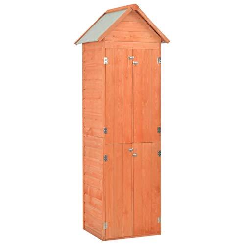 vidaXL Gerätehaus Holz Geräteschuppen Gartenhaus Gartenschrank Geräteschrank