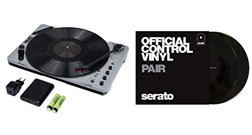 Read About Reloop SPIN + Serato Performance Series 7 Control Vinyl Bundle