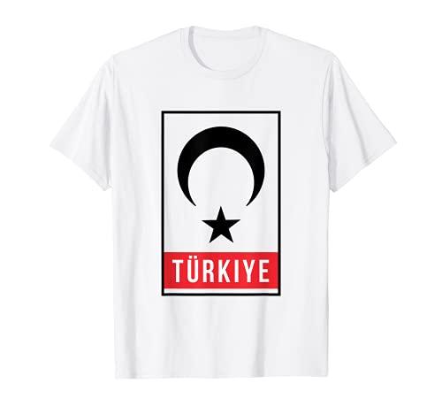 Türkiye Türkei Fahne Ay Yildiz Mond Stern Ben Bir Türküm T-Shirt