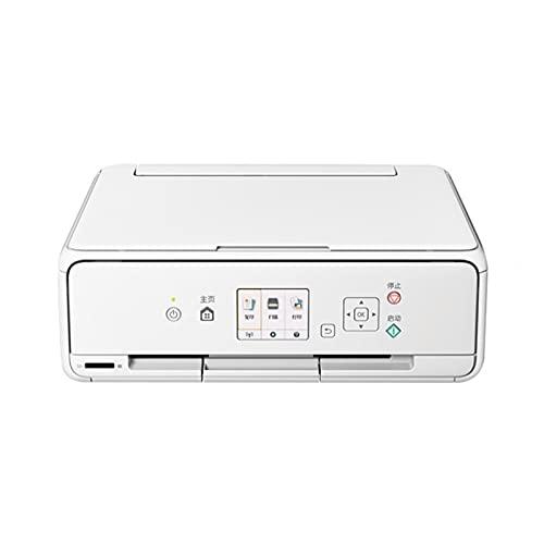 WJYZYHM Impresora de inyección de Tinta de Color - Todo en uno, inalámbrico/USB 2.0 / Red, Impresora/escáner/copiadora/máquina de fax, impresión de 2 Lados, Impresora A4 / A3 Imprimir capacida