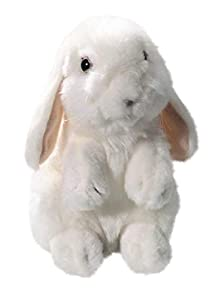 Carl Dick Liebre, Conejo de pie Color Blanco, Nieve Conejo de Peluche (18cm 2566004