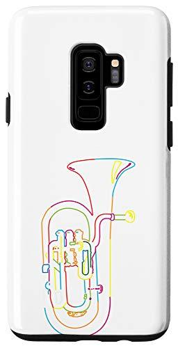 Galaxy S9+ Retro Marching Band Tuba Case