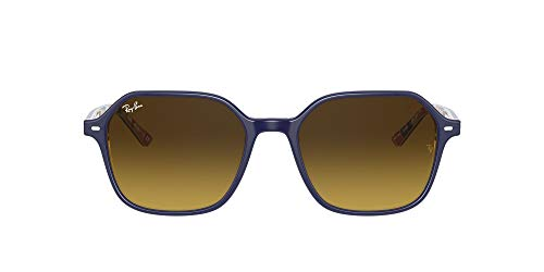 Ray-Ban 0RB2194 Lentes oscuros, BLUE ON STRIPES ORANGE/BLUE, 53 Unisex