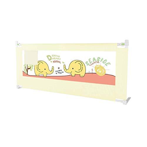 WaiMin Riel de cama individual for niños pequeños, Protector de cama de elevación vertical Protector de protección de seguridad Barandilla de seguridad for bebés con espuma NBR Incluye (Estampado de e 🔥