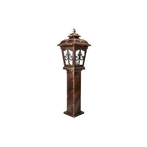 ZZYJYALG Luces al aire libre poste la columna de la columna luces...