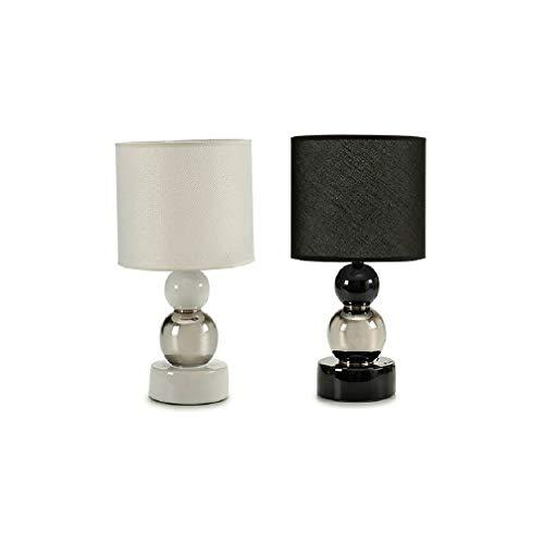 takestop® lamp van peertje, materiaal keramiek, E27, Art_01960, 16 x 16 x 35 cm, voor coomini tafel, skiria, slaapkamer, design modern, Grijs