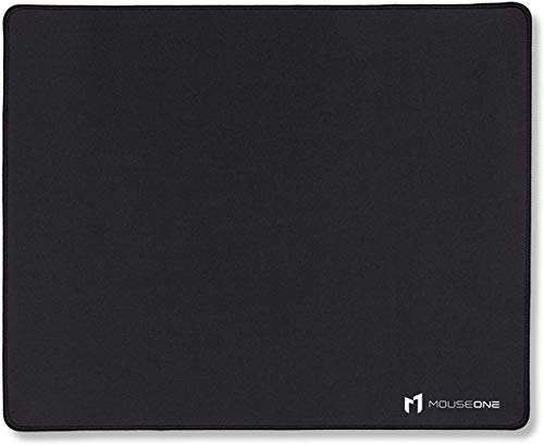 Thasis - Extended Gaming Mouse Pad - Retrowave Edition - Cloth with Stitched Edges - 15.7in H x 36.6in L-Black-Standard