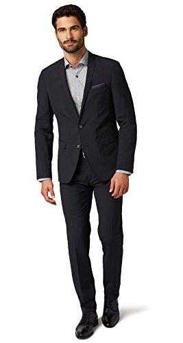 TOM TAILOR Herren 2 Tone Structure Suit Pants Anzughose, Blau (Navy 6000), 106