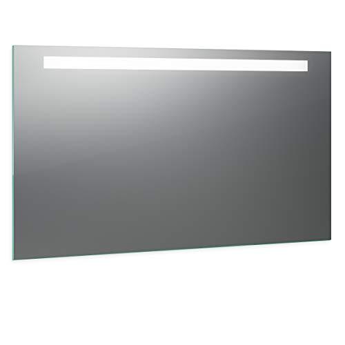 Spiegel ID Biella Design: LED BADSPIEGEL mit Beleuchtung - nach Wunschmaß - Made in Germany - Auswahl: (Breite) 90 cm x (Höhe) 60 cm - Modell: 2205503
