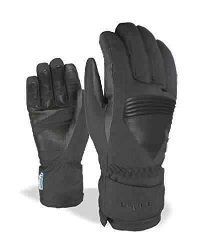 Level–Guantes para Hombre i de Super Radiator Gore-Tex, Black, 8, 3223ug