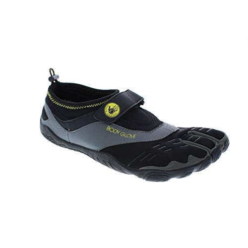 Body Glove Men#039s 3T Barefoot Max Water Shoe Black/Yellow 11