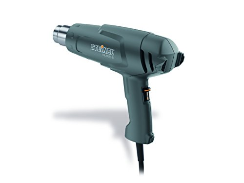 """Steinel - 110023455 HL 1620 S Multi-Purpose Heat Gun, 1300 W, Dual Temperature Heat Tool with Adjustable Airflow, for Shrink wrap and Shrink tubing, for All 1.34"""" Industry Standard nozzles"""