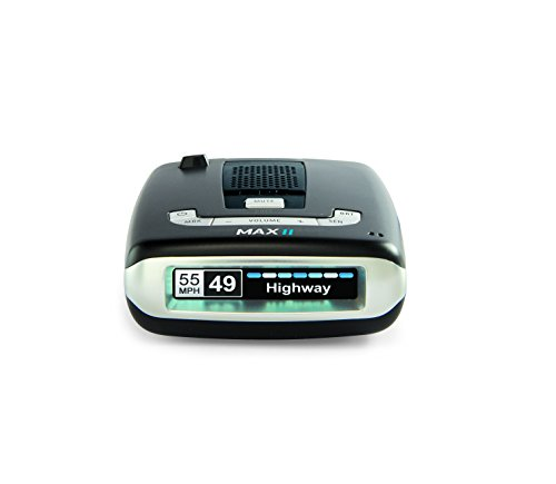 ESCORT MAX II - Radar Laser Detector, Auto Learn Technology, ESCORT LIVE App, Bluetooth, GPS, Speed Alerts, Headphone Jack