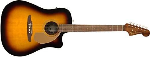 Fender Redondo Player - Guitarra acústica - Sunburst