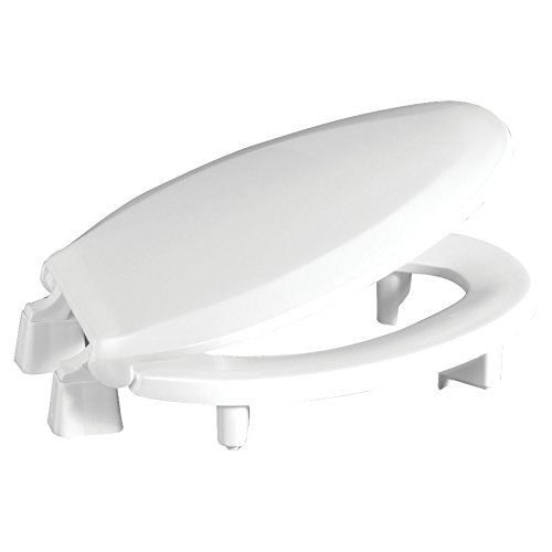 "Centoco Elongated 3"" Lift Raised Plastic Toilet Seat"